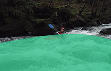 White water kayaking with Shoreline Extreme Sports in Bude, Cornwall